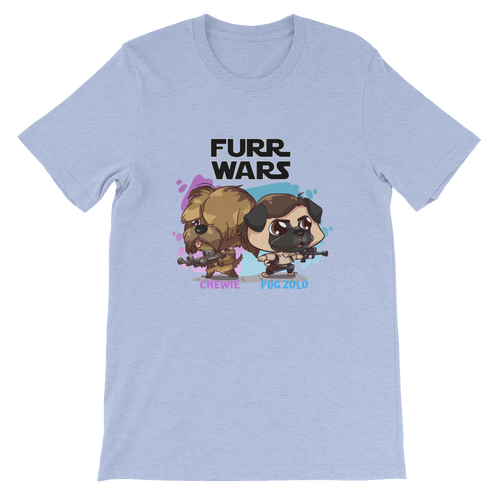 Chewie And Pug Zolo Women's Tee's