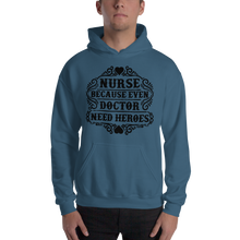 Load image into Gallery viewer, Even Doctor Need Heroes Men's Hoodies