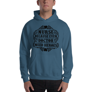 Even Doctor Need Heroes Men's Hoodies