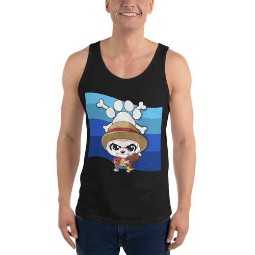 Dog Piece Men's Tank Tops