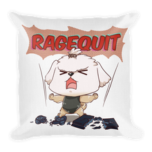 Load image into Gallery viewer, RageQuit Premium Pillow