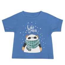Load image into Gallery viewer, Hate Winter Panda Baby Tee's