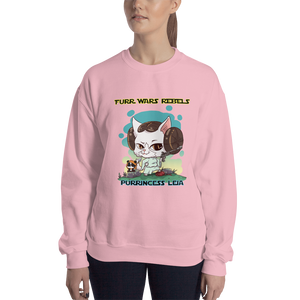 Purrincess Leia Women's Sweatshirt