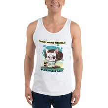 Load image into Gallery viewer, Purrincess Leia Men's Tank Tops