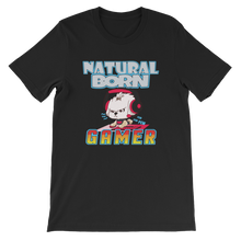Load image into Gallery viewer, Natural Born Gamer Women's Tee's