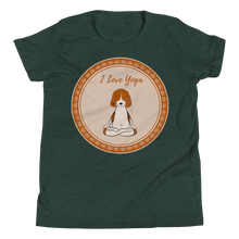 Load image into Gallery viewer, I Love Yoga Youth Tee's