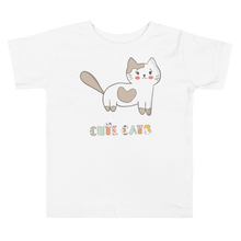Load image into Gallery viewer, Cute Cats Toddler Tee's