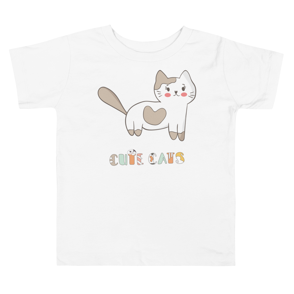 Cute Cats Toddler Tee's