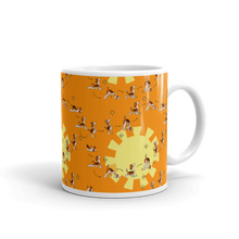 Load image into Gallery viewer, Sun Salutation Yoga Mug