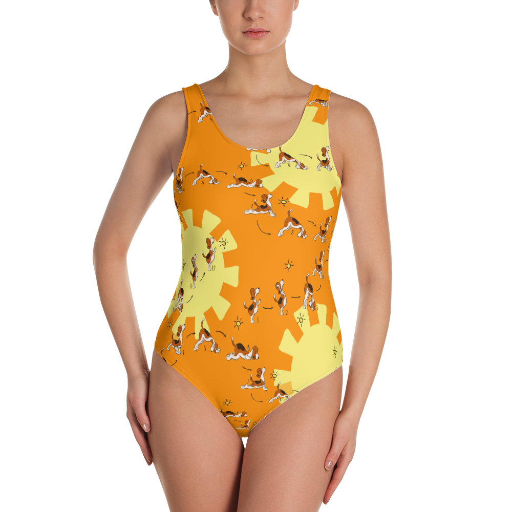 Sun Salutation One-Piece Swimsuit