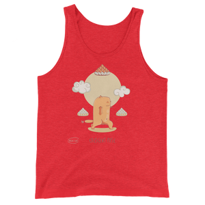 Cresent Pose Yoga Men's Tank Tops
