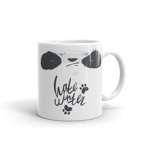 Hate Winter Smirk Panda Mug