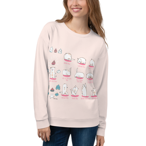 Yoga Poses Sweatshirt