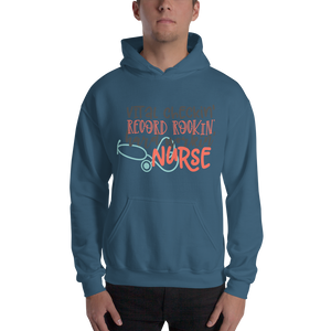 Hard Working Nurse Men's Hoodies