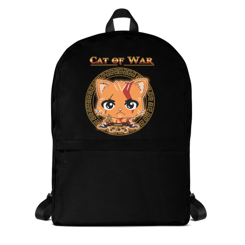 Cat Of War Backpack