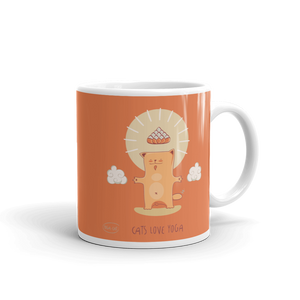 Cats Love Yoga Mug