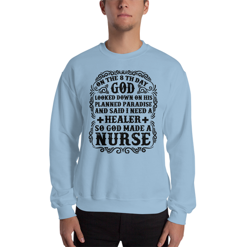 8th Day Men's Sweatshirt