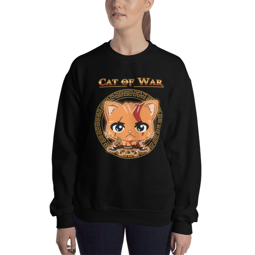 Cat Of War Women's Sweatshirt