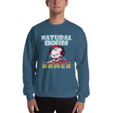 Load image into Gallery viewer, Natural Born Gamer Men's Sweatshirt