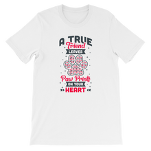 Load image into Gallery viewer, Paw Prints On Your Heart Women's Tee's