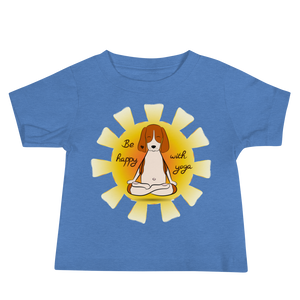 Be Happy With Yoga Baby Tee's