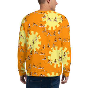 Sun Salutation Men's Sweatshirt