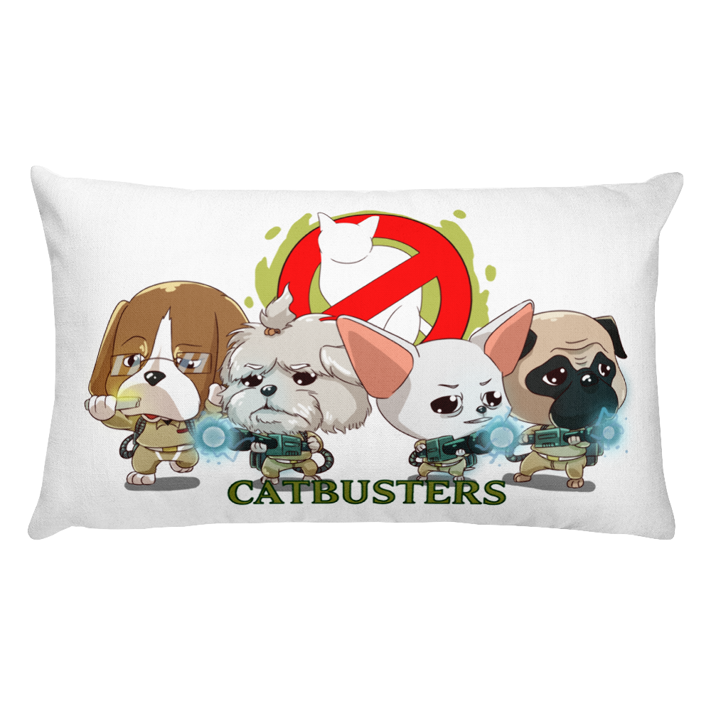 CATBUSTERS Premium Pillow