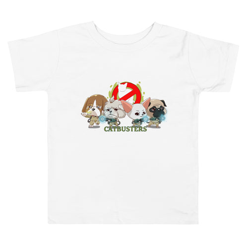 CATBUSTERS Toddler Tee's