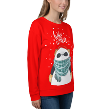 Load image into Gallery viewer, Hate Winter Panda Women's Sweatshirt