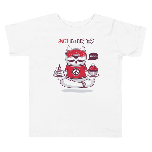 Sweet Morning Yoga Toddler Tee's