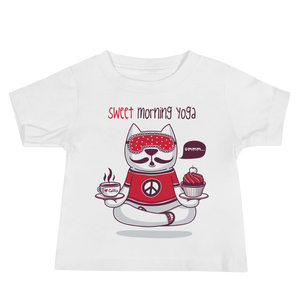 Sweet Morning Yoga Baby Tee's
