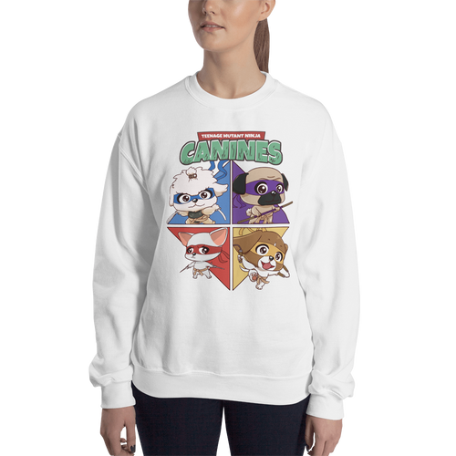 Teenage Mutant Ninja Canines Women's Sweatshirt