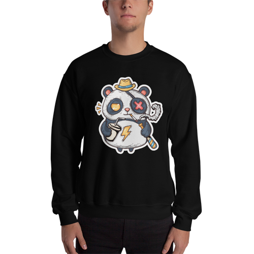 Eye Patch Panda Men's Sweatshirt