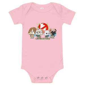 CATBUSTERS Baby Bodysuit