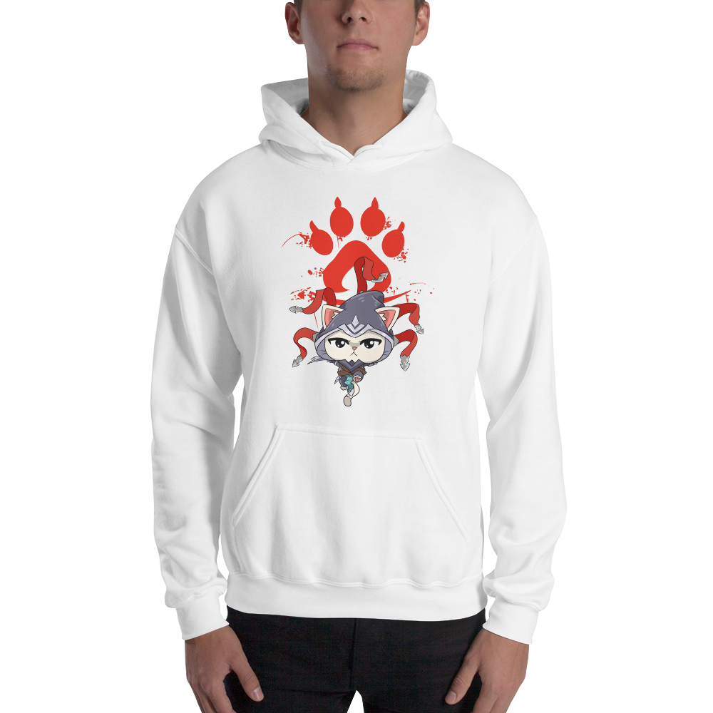 Feline Assassin Men's Hoodies