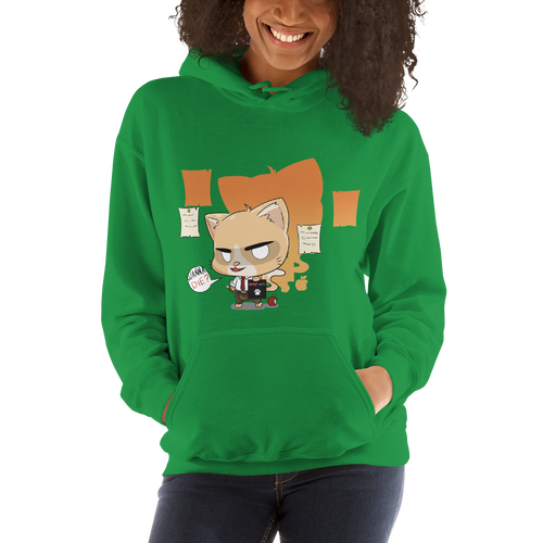 Cat Note Women's Hoodies