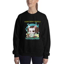 Load image into Gallery viewer, Purrincess Leia Women's Sweatshirt
