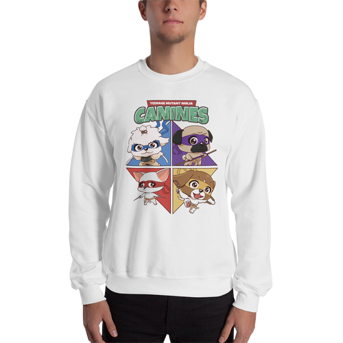 Teenage Mutant Ninja Canines Men's Sweatshirt