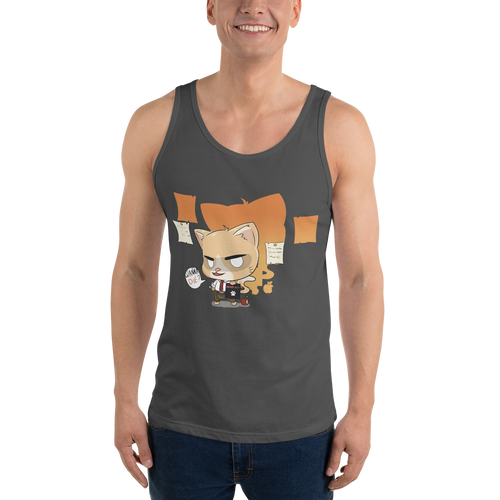 Cat Note Men's Tank Tops