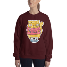 Load image into Gallery viewer, Killer Cat Women's Sweatshirt