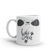 Load image into Gallery viewer, Hate Winter Smirk Panda Mug