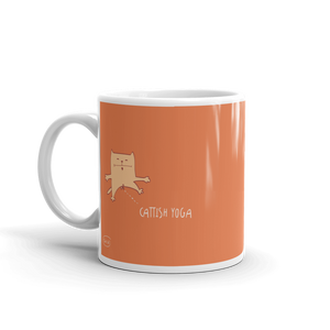 Cattish Yoga Mug