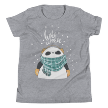 Load image into Gallery viewer, Hate Winter Panda Youth Tee's