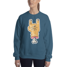 Load image into Gallery viewer, I Love Rock Women's Sweatshirt