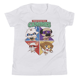 Teenage Mutant Ninja Canines Youth Tee's