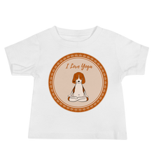 Load image into Gallery viewer, I Love Yoga Baby Tee's