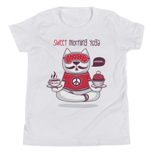 Load image into Gallery viewer, Sweet Morning Yoga Youth Tee's