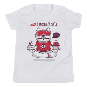 Sweet Morning Yoga Youth Tee's