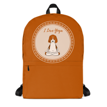 Load image into Gallery viewer, I Love Yoga Backpack