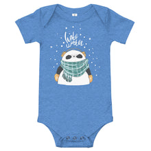 Load image into Gallery viewer, Hate Winter Panda Baby Bodysuit